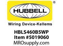 HBL_WDK HBLS460B5WP IECINLT3P4W60A 3P 600V4X/IP69kPILOT