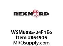 REXNORD WSM6085-24F1E6 WSM6085-24 F1 T6P N4 WSM6085 24 INCH WIDE MATTOP CHAIN W