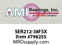 AMI SER212-38FSX 2-3/8 NML WIDE CYL O.D. SET SCREW F INSERT SINGLE ROW BALL BEARING