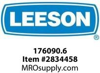 Leeson 176090.6 GROUND RING182/184T.Wattsaver CI motors.SGR KITSGR-28.1-3 Rev E. :