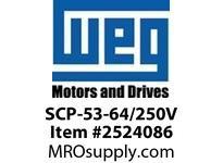 WEG SCP-53-64/250V START CAPACITOR Motores