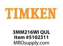 TIMKEN 3MM216WI QUL Ball P4S Super Precision
