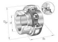 INA GNE30KRRB Radial insert ball bearing