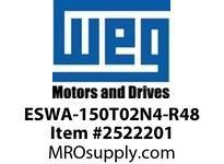 WEG ESWA-150T02N4-R48 FVNR 60HP/230V T-A 4 T02 Panels