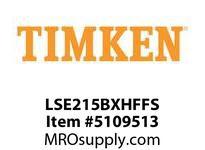 TIMKEN LSE215BXHFFS Split CRB Housed Unit Assembly
