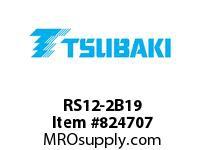 US Tsubaki RS12-2B19 12-2B19 20MM SB DBL HT
