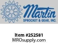 """Martin Sprocket 14FTF3 14"""" FLARED END FLANGE"""