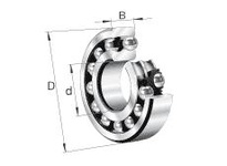 FAG 129-TVH SELF-ALIGNING BALL BEARINGS