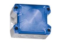 Pfannenberg 21510157055 PY X-S-05 115 AC BL 7035 Compact Flashing Xenon Strobe Beacon 1 Hz 5 Joules 90 - 135 VAC gre