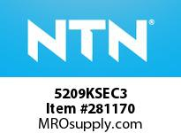 NTN 5209KSEC3 DOUBLE ROW