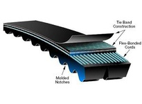 Gates 9389-12060 12/5VX600 Super HC Molded Notch PowerBand Belt