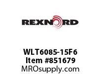 REXNORD WLT6085-15F6 LT6085-15 F4 T6P LT6085 15 INCH WIDE MATTOP CHAIN WI