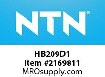 NTN HB209D1 Cast Housing