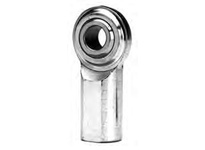FKB JF5TY 3-PIECE FEMALE PRECISION-WEAR RESISTANT ROD END RIGHT-HAND WITH TEFLON LINER AND STUD