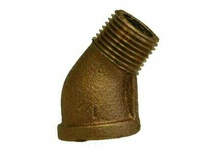 MRO 44205 1 BRONZE 45 STREET ELBOW