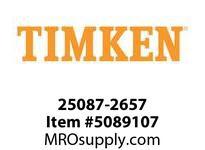 TIMKEN 25087-2657 Seals Hi-Performance <8