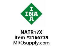 INA NATR17X Yoke type track roller