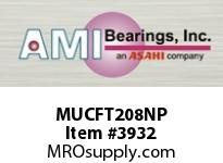 AMI MUCFT208NP 40MM STAINLESS SET SCREW NICKEL 2-B BRG NICKEL PLATE HSG