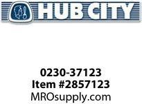 HUB CITY 0230-37123 4501 100/1 WR SINGLE OUTPUT Worm Gear Drive