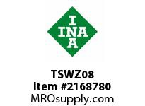 INA TSWZ08 Linear shaft support rail