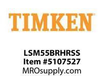 TIMKEN LSM55BRHRSS Split CRB Housed Unit Assembly