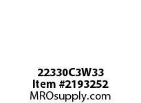 PTI 22330C3W33 SPHERICAL ROLLER BEARING