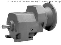 Boston Gear D02487 F862B-18K-B7-M4- HELICAL SPEED REDUCER