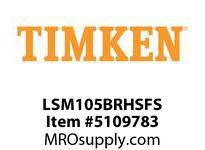 TIMKEN LSM105BRHSFS Split CRB Housed Unit Assembly