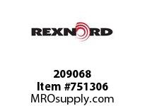 REXNORD 209068 594966 350.S54RD.CPLG STR