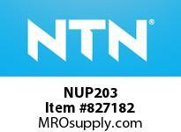 NTN NUP203 CYLINDRICAL ROLLER BRG