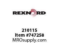 REXNORD 210115 14342 BOLT SN 1100T SP