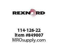 REXNORD 114-126-22 TP D863K1.5 D863 1.5 INCH WIDE TABLETOP CHAIN T