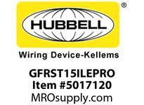 HBL_WDK GFRST15ILEPRO 15A COM SELF TEST EPRO GFR IVORY