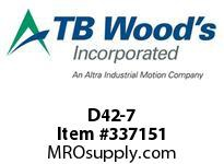 TBWOODS D42-7 WASHER