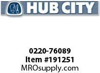 HUBCITY 0220-76089 SS324 60/1 A WR 143TC SS WORM GEAR DRIVE