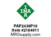 INA PAP2430P10 Plain bearing