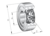 INA LR5208KDD Yoke type track roller