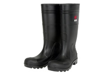 MCR PBP1208 16 PVC knee boot mens Plain Toe- black