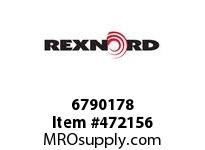 REXNORD 6790178 6790178 25.CB.CPLG .25 X .38