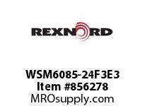 REXNORD WSM6085-24F3E3 WSM6085-24 F3 T3P N2.88