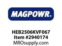 MagPowr HEB2506KVF067 HEB-250 PNEUMATIC BRAKE