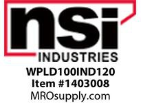 NSI WPLD100IND120 LARGE DEEP WALLPACK 100 WATT INDUCTION 120 VOLT