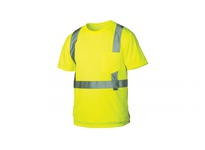 Pyramex RTS2110L Hi-Vis Lime T-Shirt - Size Large