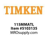 TIMKEN 115MMATL Split CRB Housed Unit Component