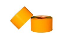 "Cortina 03-10-107 Temp. PM Tape - Construction Grade - 4"" x 100 yards - Yellow"