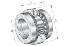 INA ZARN65125TN Ball screw support bearing