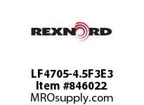 REXNORD LF4705-4.5F3E3 LF4705-4.5 F3 T3P N1