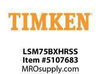TIMKEN LSM75BXHRSS Split CRB Housed Unit Assembly