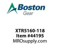 BOSTON 56637 XTR5160-118 EXT RET. RING 5160-118