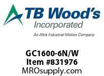 TBWOODS GC1600-6N/W NUT THRUST WASHER GC1600